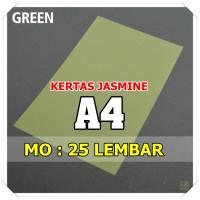 Kertas Karton Jasmine / Paper Flower A4 GREEN HIJAU