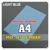 Kertas Karton Jasmine / Paper Flower A4 LIGHT BLUE BIRU MUDA