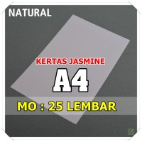Kertas Karton Jasmine / Paper Flower A4 NATURAL