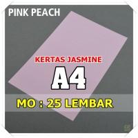 Kertas Karton Jasmine / Paper Flower A4 PINK PEACH