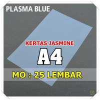 Kertas Karton Jasmine / Paper Flower A4 PLASMA BLUE TOSCA