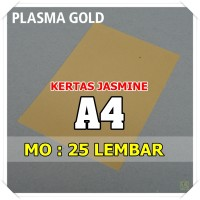 Kertas Karton Jasmine / Paper Flower A4 PLASMA GOLD EMAS