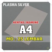Kertas Karton Jasmine / Paper Flower A4 PLASMA SILVER PERAK KUNING