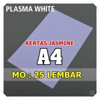 Kertas Karton Jasmine / Paper Flower A4 PLASMA WHITE PUTIH  180 gsm