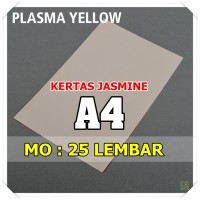 Kertas Karton Jasmine / Paper Flower A4 PLASMA YELLOW