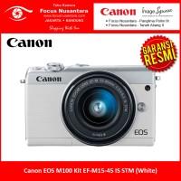 Canon EOS M100 Kit EF-M15-45 IS STM (White)
