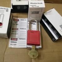 Loto / Safety Padlock Master Lock 410red Original Limited