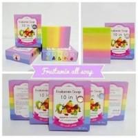 Harga fruitamin soap 10 in1 by wink white original sabun | Pembandingharga.com