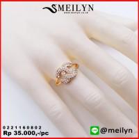 MEILYN CINCIN MOTIF CHANEL EMAS ZIRCON 0221160802 MEILI