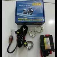 Harga Hemat! Lampu Led /Lampu Hid Xenon Light Utk Motor ....