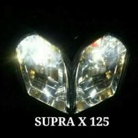 Harga Grosir! Lampu Led Motor Supra X 125 (H6 Led + Cvdc) ..