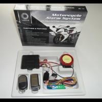 Harga Grosir! Alarm Motor Merk Vinyx + Baterai Cadangan Anti Maling /