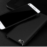 STR.GRR- CASING XIAOMI MI 5 SAND SCRUB ULTRA THIN HARD CASE BLACK