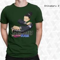 T-shirt Kaos 3D Shikamaru 2 - Kaos 3D Murah Bandung