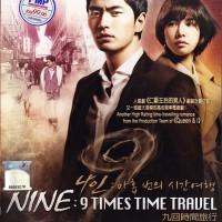 Jual DVD Nine Times Time Travel / Film Korea / Drama Korea
