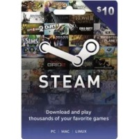 Steam+Wallet 10$ TERMURAH