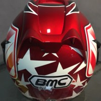 (Diskon) Helm BMC Jazz Red white #14
