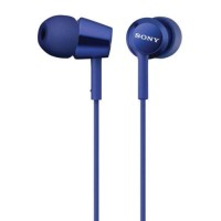 harga Sony In-ear Monitor Headphone Mdr-ex155ap / Ex 155ap - Blue Tokopedia.com