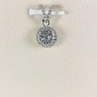 Liontin Berlian Bulat 01 - Ivana Jewellery