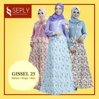 Gamis Woolpeach SEPLY Gissel-25 Ukuran XL