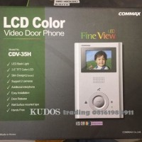 "PALING LARIS - COMMAX 3.5"" VIDEO DOOR PHONE - CDV-35H"