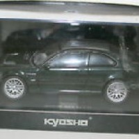 KYOSHO 1/43 03531GL BMW M3 GTR STREET VERSION GREEN