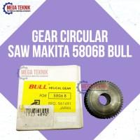 Gear Circular Saw / Circle / Graji Kayu Besi Makita 5806B Bull TOP