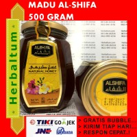 Madu Murni 1/2 Kg al-Shifa - Madu Arab - Madu Import