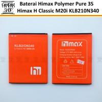 Baterai Himax Polymer Pure 3S H Classic M20i KLB210N340 Original OEM
