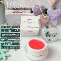 MS Glow Flawless Red Jelly / untuk membuat wajah glowing