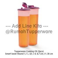 Tupperware Cooking Oil 2buah Purple