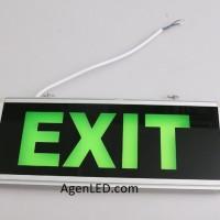 Lampu EXIT LED / Lampu petunjuk darurat Emergency EXIT Lamp 2 sisi -M1