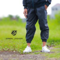 Celana Sirwal Jogger - Jogger Pants - Biru Dongker