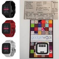 GadgetWraps Pebble Time Matte Black Wrap
