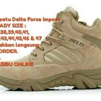 SEPATU TACTICAL DELTA 6 INCI TAN GURUN/ARMY SABOTAGE/QUALITAS IMPORT