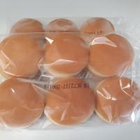 Roti Burger Polos Bernardi 6pcs 50gr/pcs
