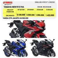 YAMAHA R15 VVA JAKARTA - KREDIT LEASING