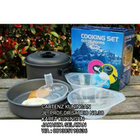 Alat Masak Camping Cooking Set DS 200