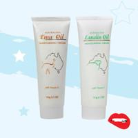 Emu Oil & Lanolin Oil Moisturising Cream With Vitamin E