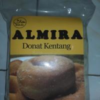 ALMIRA Donat kentang MENTAH empuk dan enak MURAH isi 10pcs + toping
