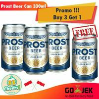 PROMO Prost / beer / miniman kaleng / beer prost