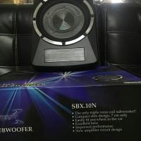 """Subwoofer Concept Slim Super Slim Active 10"""""""