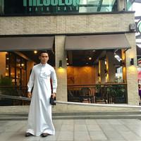 Gamis Mecca Putih by Elrah exclusive