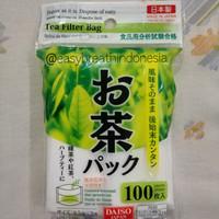 Daiso Tea Bag Filter / Saringan Teh / Kantong Teh