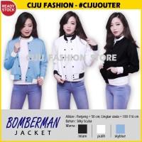 YMJ Bomberman Jacket Scuba Jaket Wanita QPC