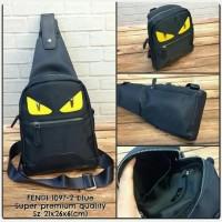 Waist Bag FENDI Blue Navy Premium kode 1097-2