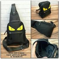 Waist Bag FENDI Black Premium kode 1097-2