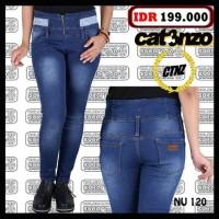Harga celana jeans wanita jins denim formal jengki levis katun | Pembandingharga.com