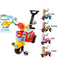 Jual Mainan anak/sepeda roda 3/sepeda anak/mobil dorong/vespa/scooter shp Murah