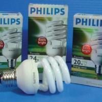 Philips Lampu Tornado Spiral Ulir 24 Watt 24W 24 W 24Wa Murah